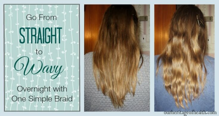 How to braid your hair for natural waves overnight | ourheritageofhealth.com