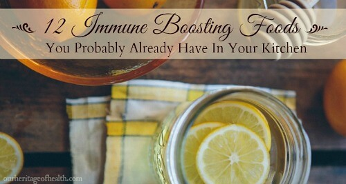 12 Immune boosting foods you probably already have in your kitchen
