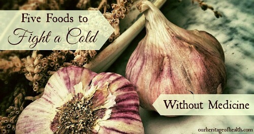 Five foods to fight a cold without medicine