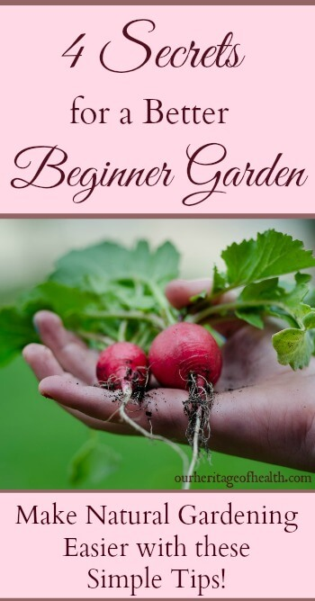 These simple tips can help you have a better garden whether it's your first year gardening or whether you've been gardening for years | ourheritageofhealth.com