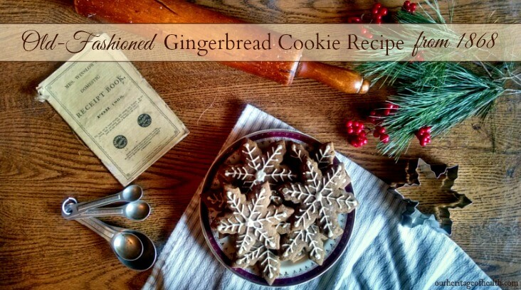 These old-fashioned gingerbread cookies have a soft texture and a blend of warm spices and rich molasses.